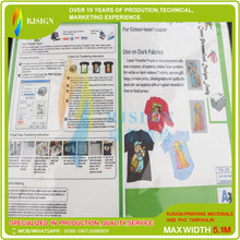 Transfer Paper Laser a4  Dark Color