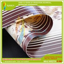 Laminated Strip Pvc Tarpaulin  Rjlst008