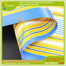 Laminated Strip Pvc Tarpaulin Rjlst003