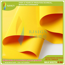 Laminated Pvc Tarpaulin Rjlp003-1g Yellow