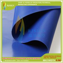 Coated Pvc Tarpaulin Rjcp002-3g Blue