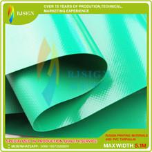 Coated Pvc Tarpaulin Rjcp001-4g Green